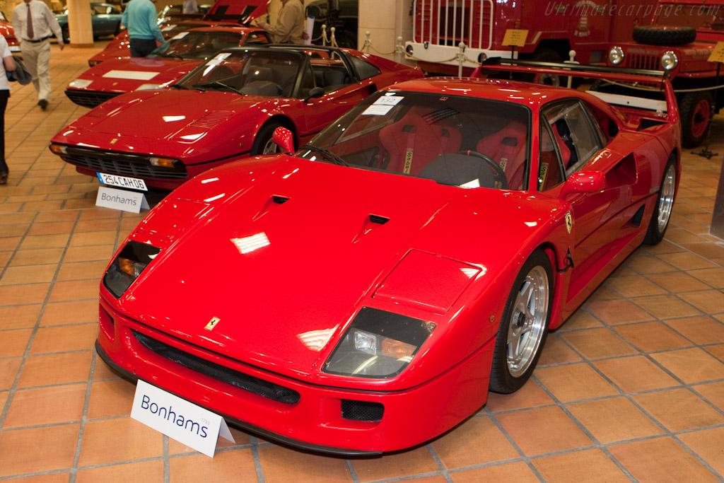 Ferrari F40    - 2010 Monaco Historic Grand Prix