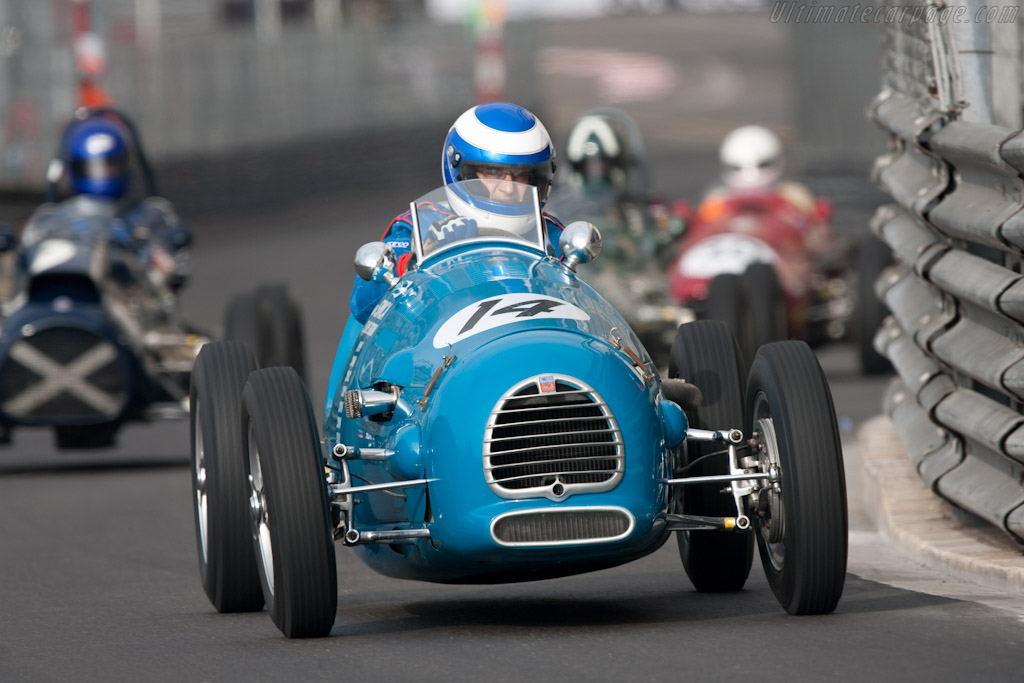 Gordini T15    - 2010 Monaco Historic Grand Prix