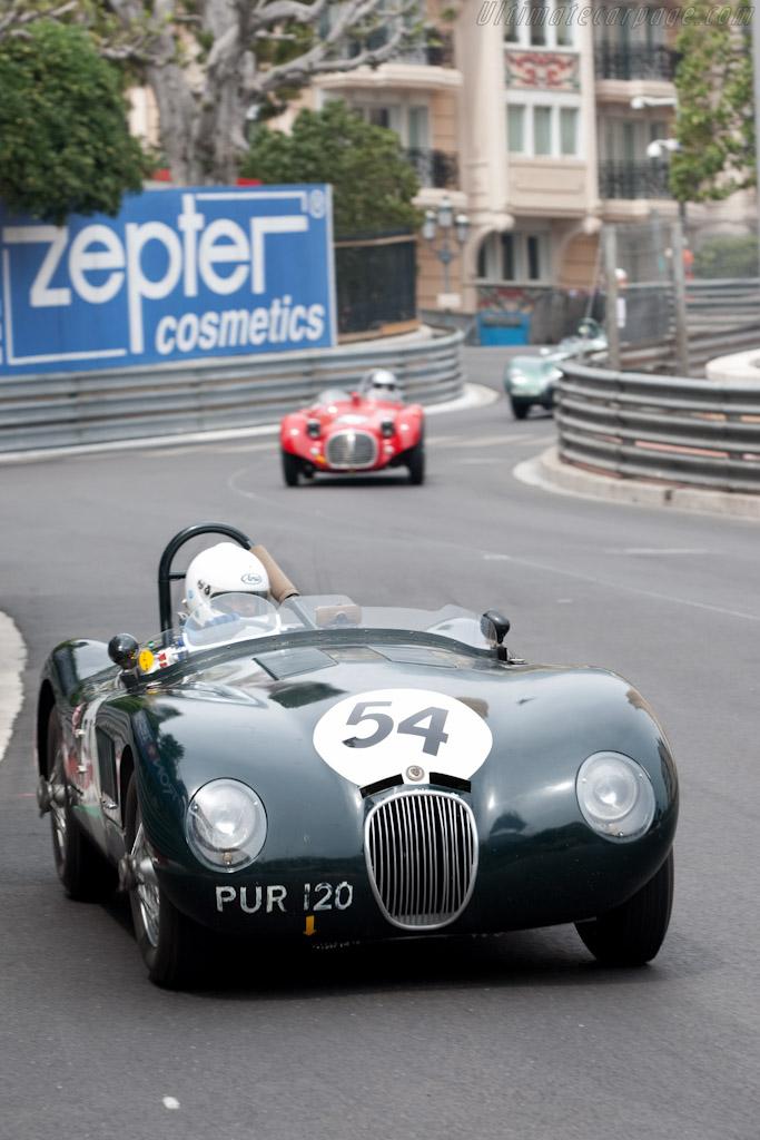 Jaguar C-Type    - 2010 Monaco Historic Grand Prix