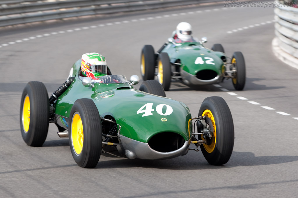 Lotus 16 - Chassis: 365   - 2010 Monaco Historic Grand Prix