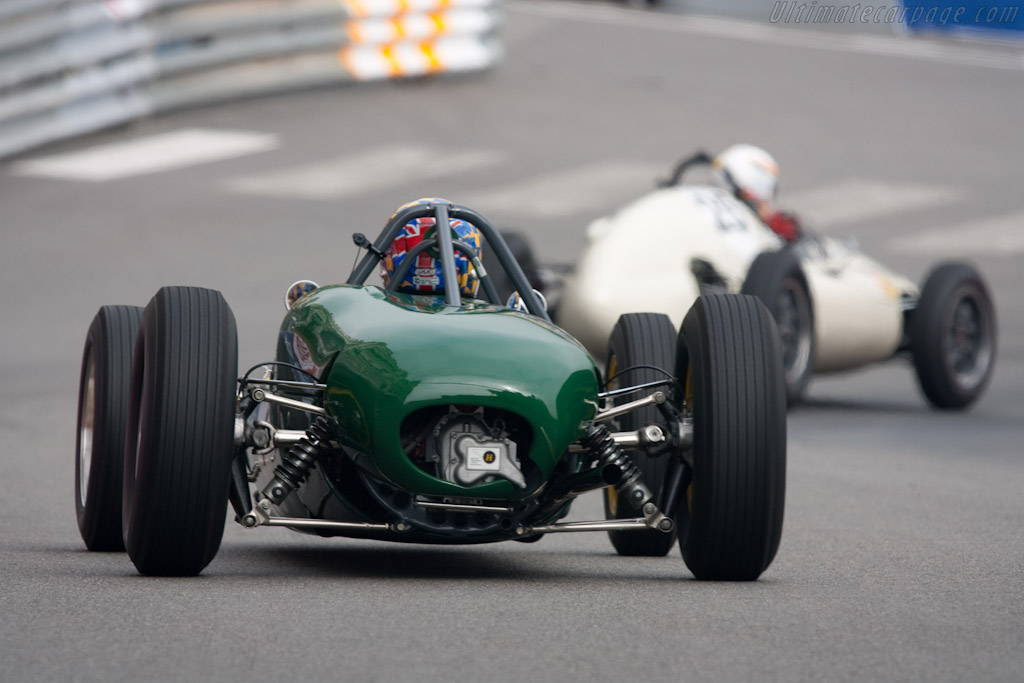 Lotus 21    - 2010 Monaco Historic Grand Prix