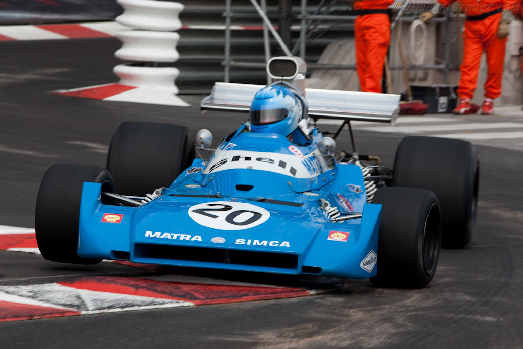 Matra MS120C - Chassis: MS120C-06  - 2010 Monaco Historic Grand Prix