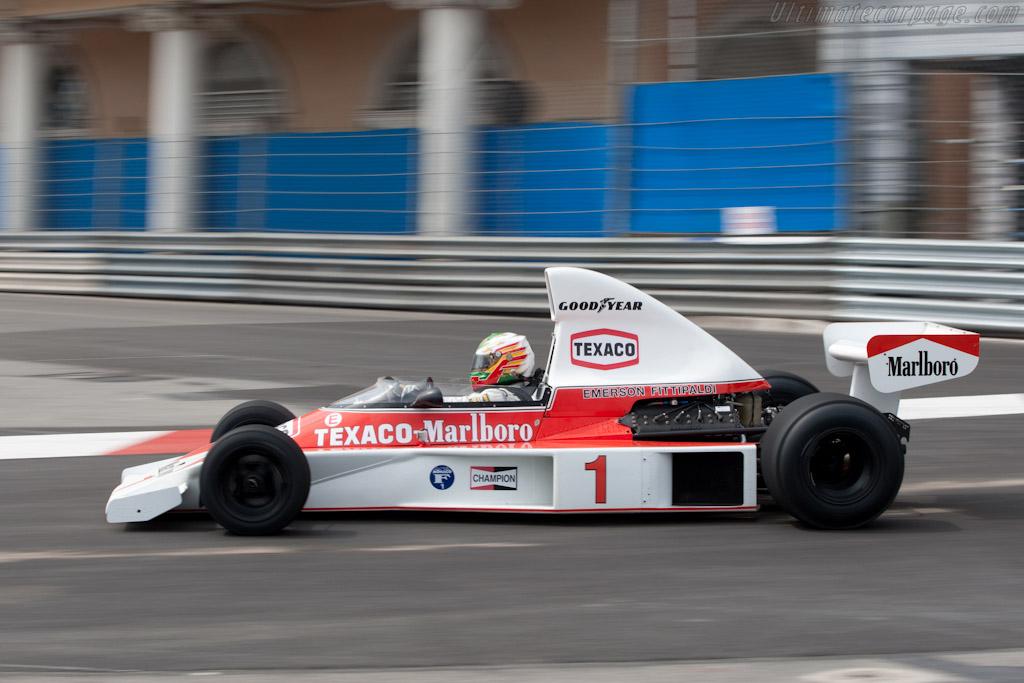 McLaren M23 - Chassis: M23-8   - 2010 Monaco Historic Grand Prix