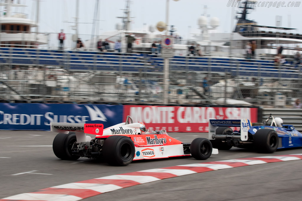 McLaren M26 - Chassis: M26-5 - Driver: Bobby Verdon-Roe  - 2010 Monaco Historic Grand Prix