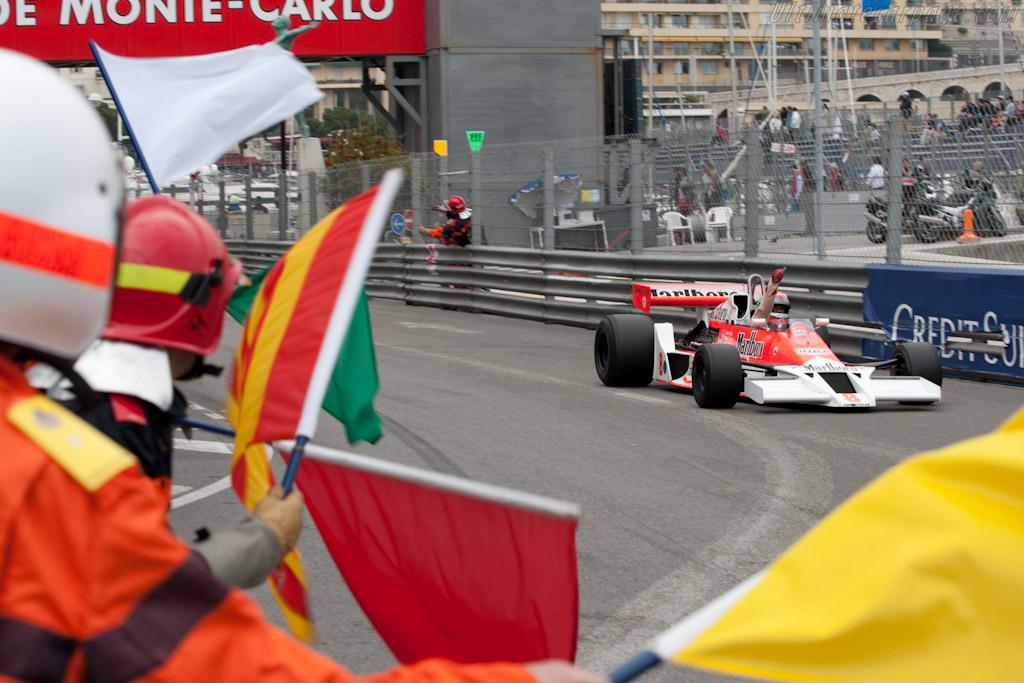 McLaren M26 Cosworth - Chassis: M26-5 - Driver: Bobby Verdon-Roe  - 2010 Monaco Historic Grand Prix