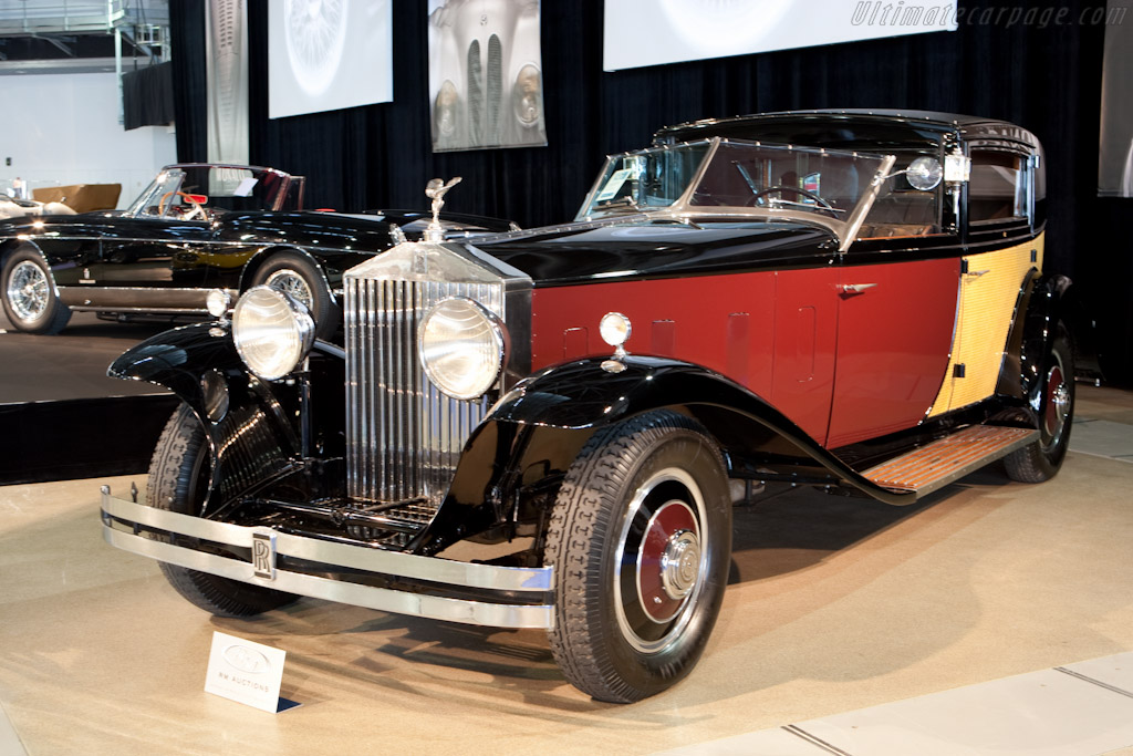 Rolls-Royce Phantom II Brewster Special Town Car - Chassis: 218AMS   - 2010 Monaco Historic Grand Prix