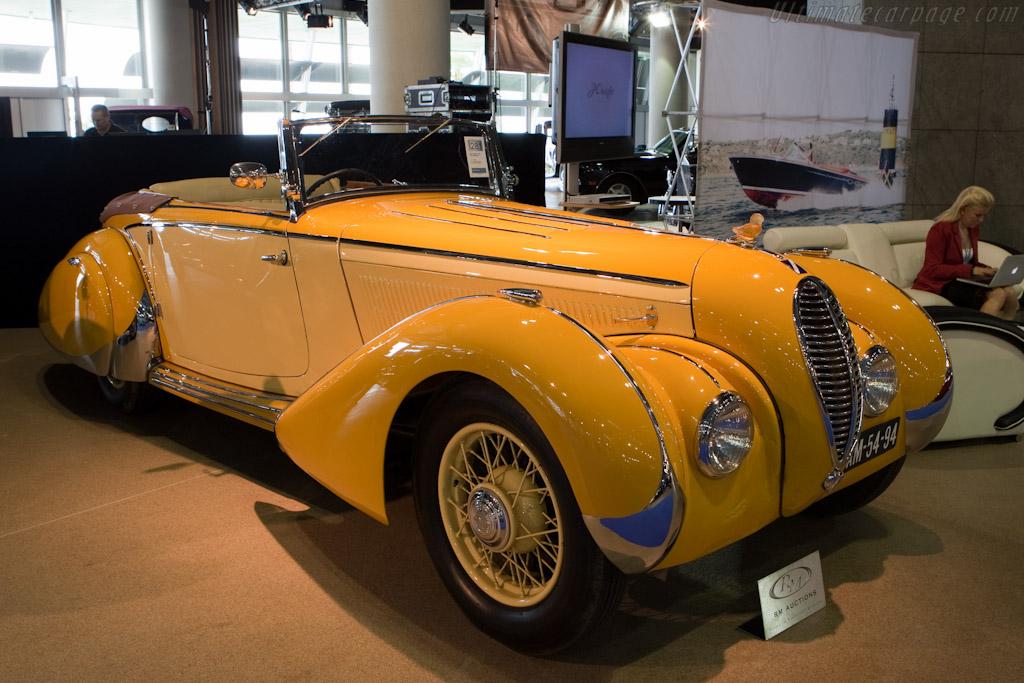 Talbot Lago T120 Cabriolet - Chassis: 85221   - 2010 Monaco Historic Grand Prix