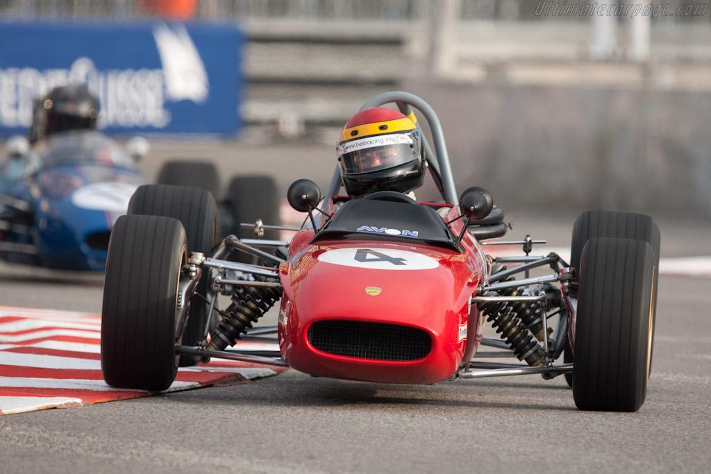 Tecno F3  - Driver: Hermann Unold  - 2010 Monaco Historic Grand Prix