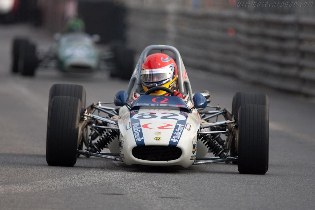 Tecno F3 - Chassis: T00326 - Driver: Alfredo Maisto  - 2010 Monaco Historic Grand Prix