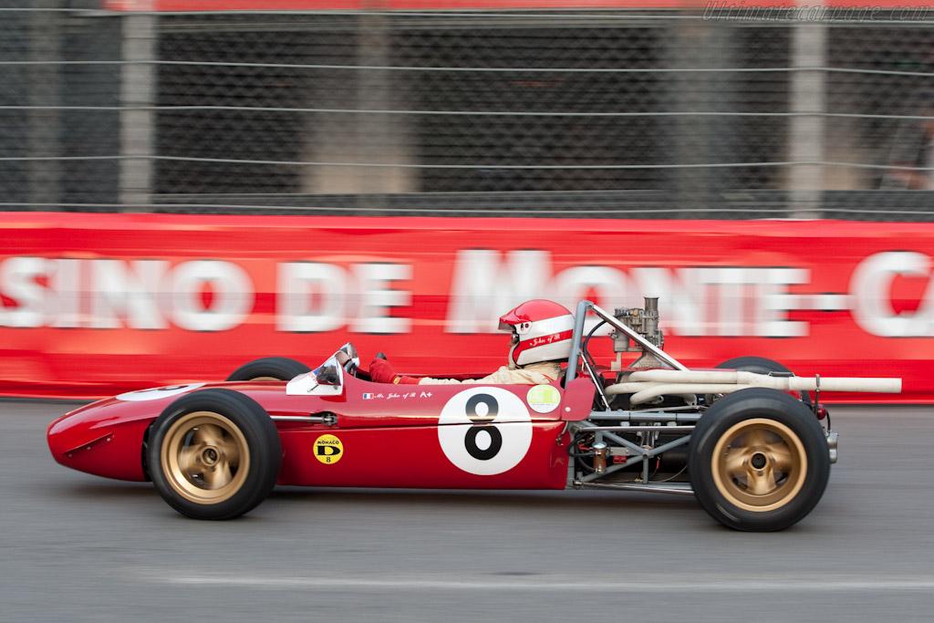 Tecno F3  - Driver: Mr John of B  - 2010 Monaco Historic Grand Prix