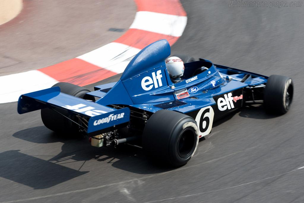 Tyrrell 006 - Chassis: 006 - Driver: John Delane  - 2010 Monaco Historic Grand Prix