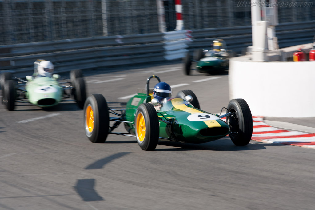 Lotus 25 Climax    - 2012 Monaco Historic Grand Prix