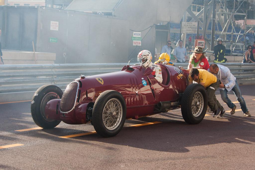 Alfa Romeo 8C 35 - Chassis: 50014 - Driver: Arturo Merzario  - 2012 Monaco Historic Grand Prix