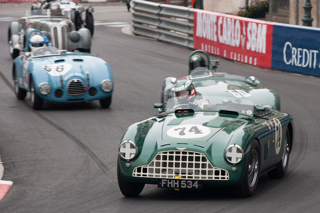 Aston Martin DB3 - Chassis: DB3/6   - 2012 Monaco Historic Grand Prix