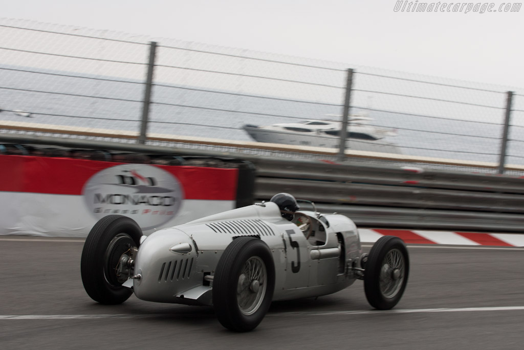 Auto Union Type C    - 2012 Monaco Historic Grand Prix