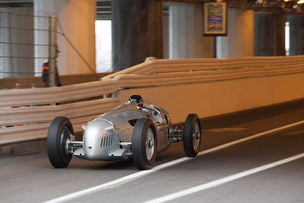 Auto Union Type C    - 2012 Monaco Historic Grand Prix