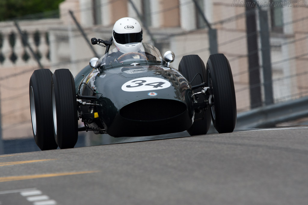 BRM P48    - 2012 Monaco Historic Grand Prix