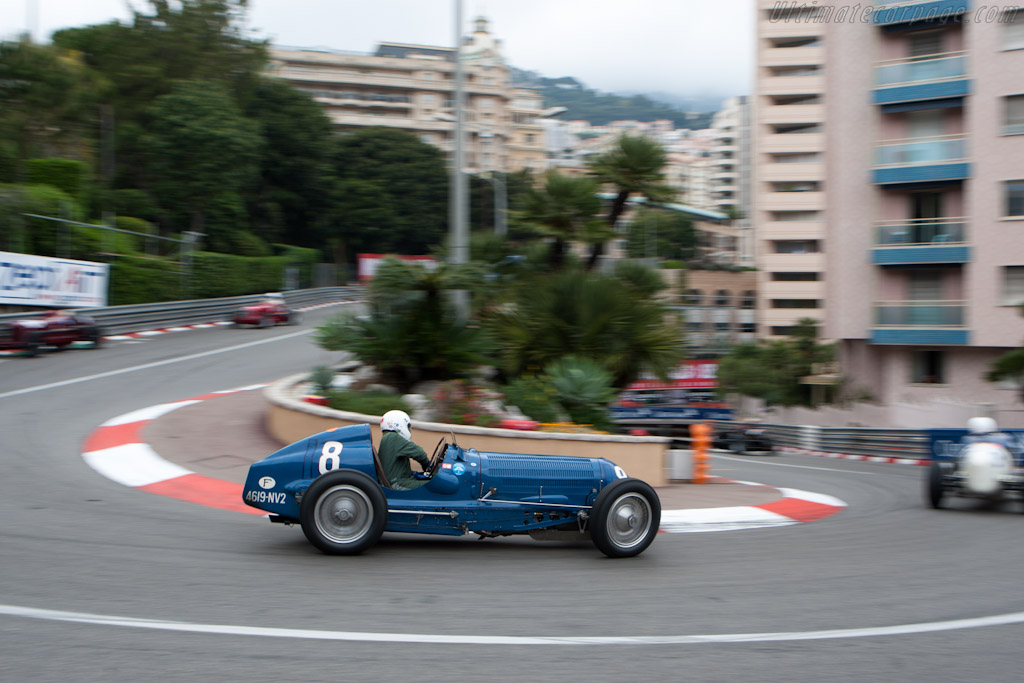 Bugatti Type 59/50B III - Chassis: 441352   - 2012 Monaco Historic Grand Prix
