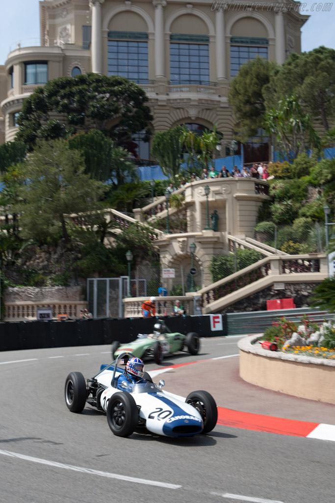 Cooper T53 Climax    - 2012 Monaco Historic Grand Prix