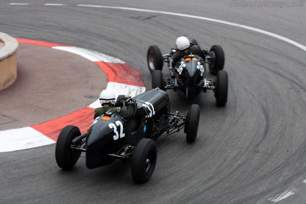 ERA B and D    - 2012 Monaco Historic Grand Prix