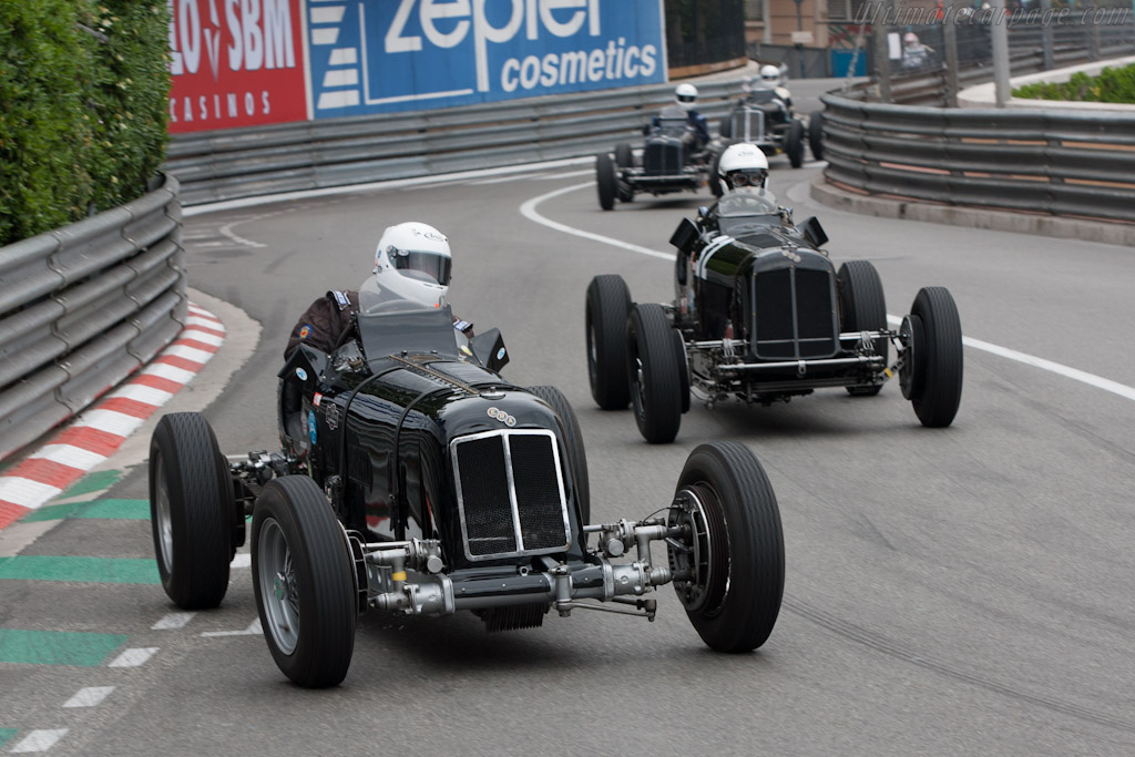 ERA D - Chassis: R4D   - 2012 Monaco Historic Grand Prix