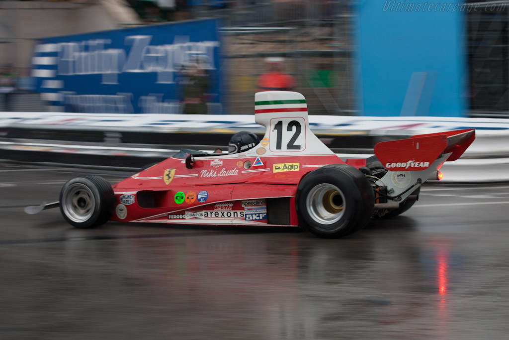Ferrari 312 T - Chassis: 021   - 2012 Monaco Historic Grand Prix