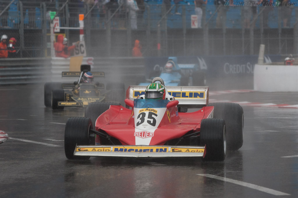 Ferrari 312 T3 - Chassis: 032 - Driver: Joaquin Folch  - 2012 Monaco Historic Grand Prix