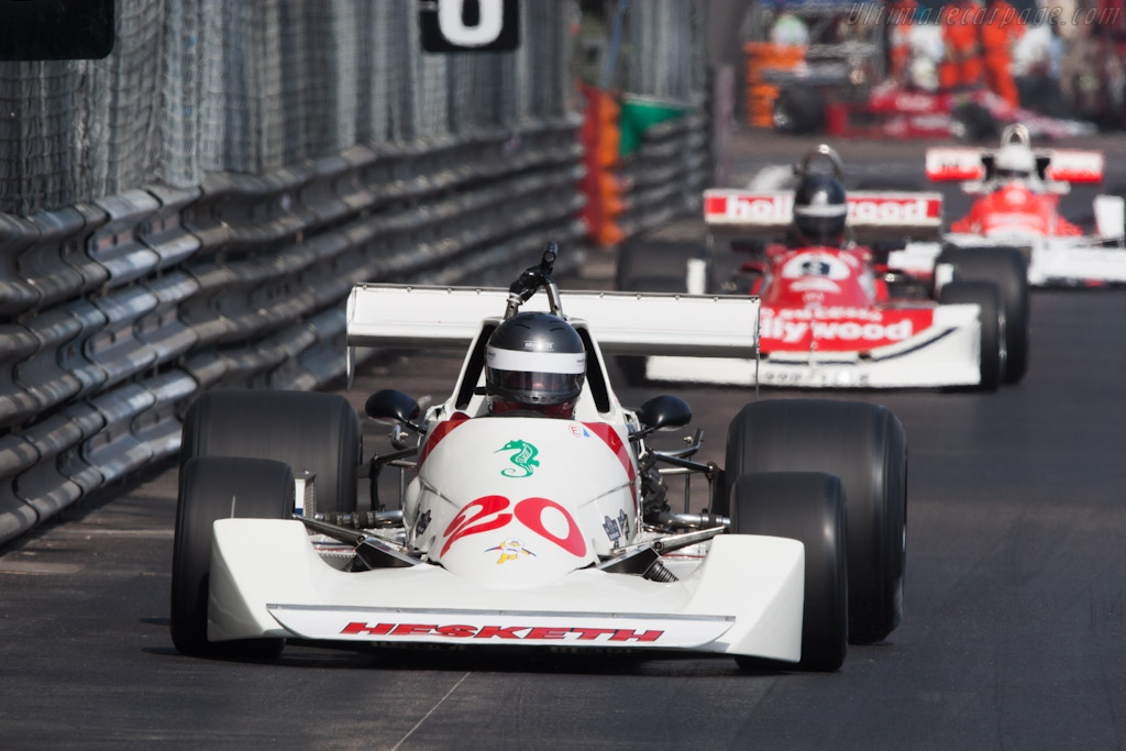 Hesketh 308C Cosworth    - 2012 Monaco Historic Grand Prix