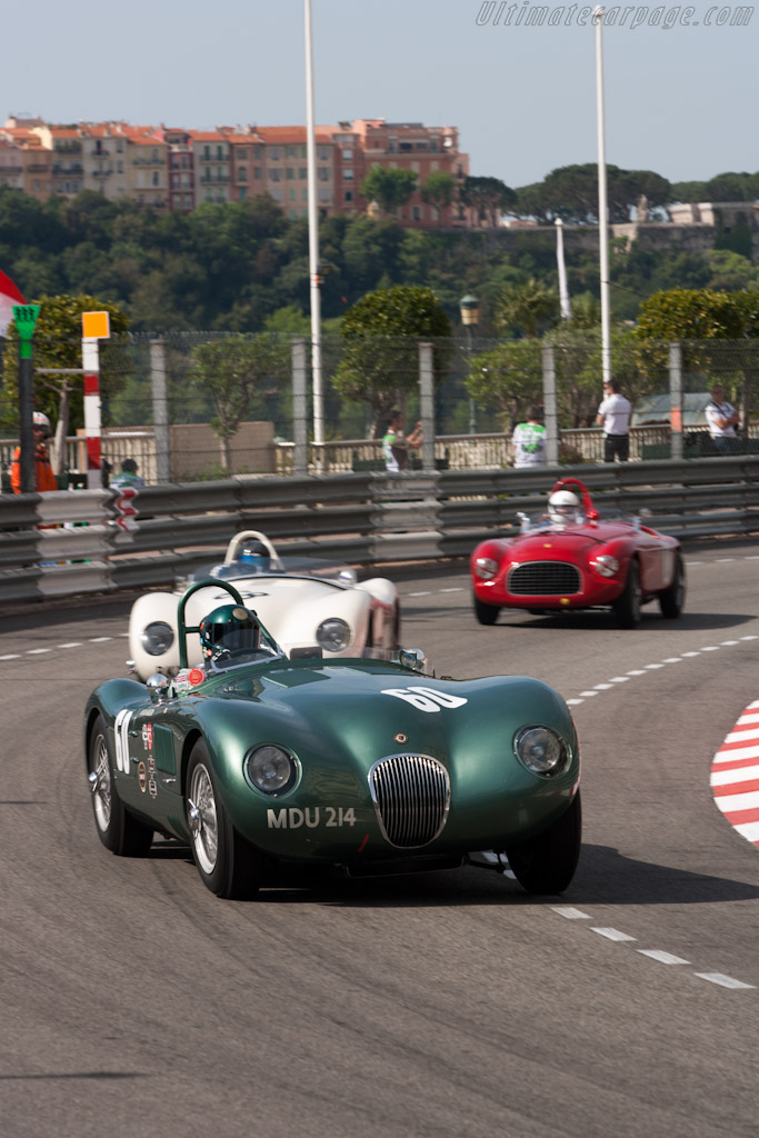 Jaguar C Type    - 2012 Monaco Historic Grand Prix