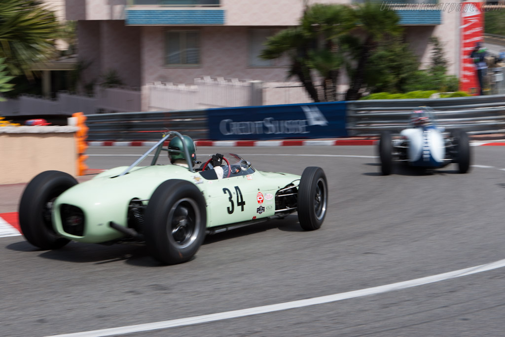 Lotus 18/21 Climax    - 2012 Monaco Historic Grand Prix