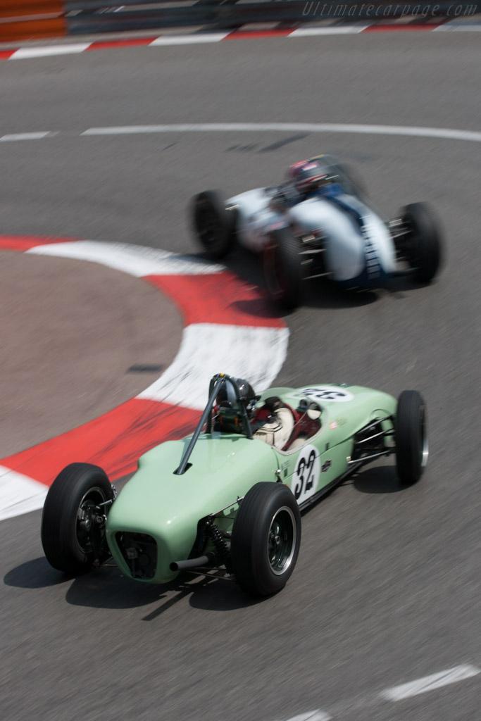 Lotus 18 Climax    - 2012 Monaco Historic Grand Prix