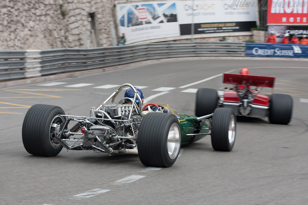 Lotus 49 Cosworth    - 2012 Monaco Historic Grand Prix