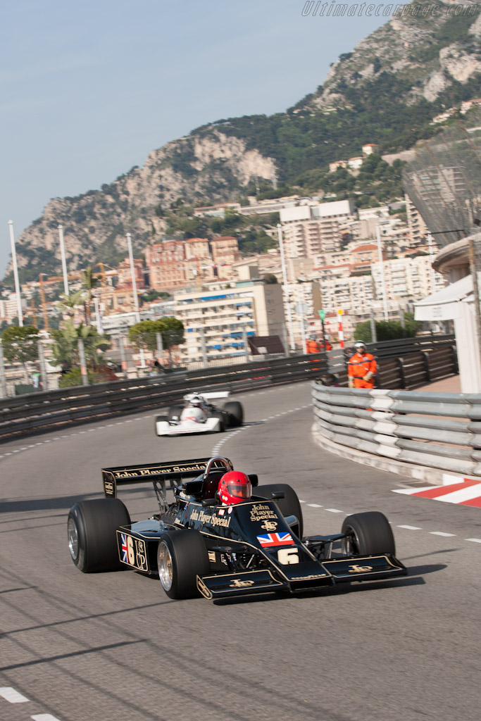Lotus 77 Cosworth - Chassis: JPS12   - 2012 Monaco Historic Grand Prix