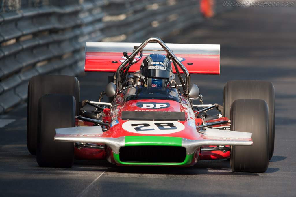 March 701 Cosworth - Chassis: 701/1 - Driver: Roger Wills  - 2012 Monaco Historic Grand Prix
