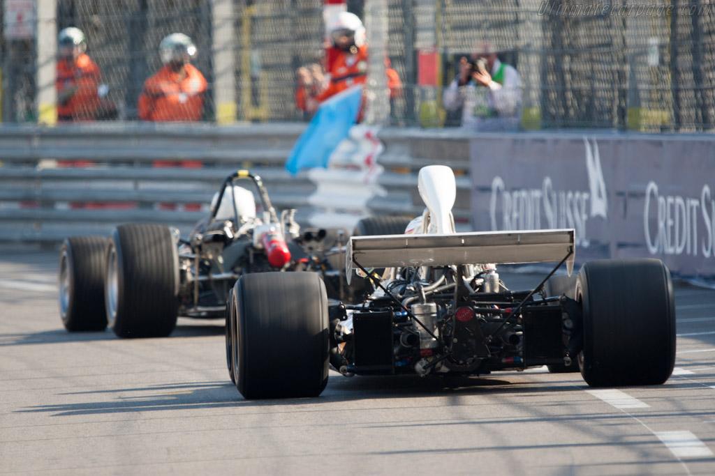 McLaren M19C Cosworth - Chassis: M19C-2 - Driver: Joaquin Folch-Rossinol  - 2012 Monaco Historic Grand Prix