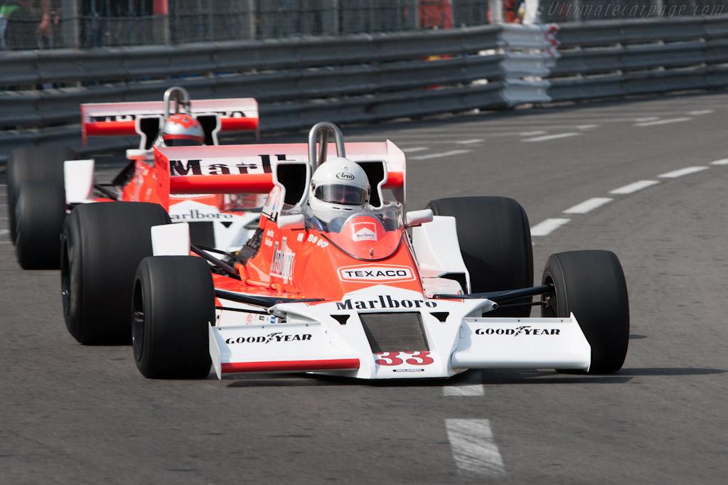 McLaren M26 Cosworth - Chassis: M26-1 - Driver: Frank Lyons  - 2012 Monaco Historic Grand Prix