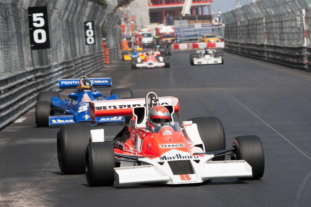 McLaren M26 Cosworth - Chassis: M26-5 - Driver: Bobby Verdon-Roe  - 2012 Monaco Historic Grand Prix