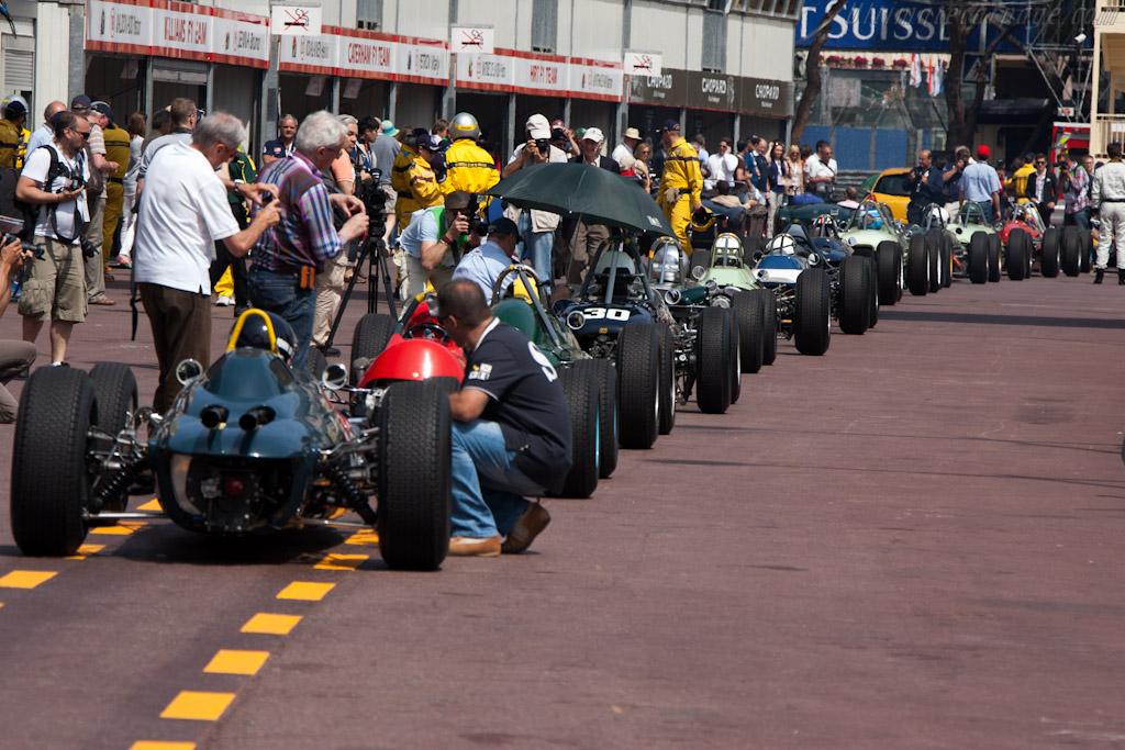 Monaco Paddock    - 2012 Monaco Historic Grand Prix