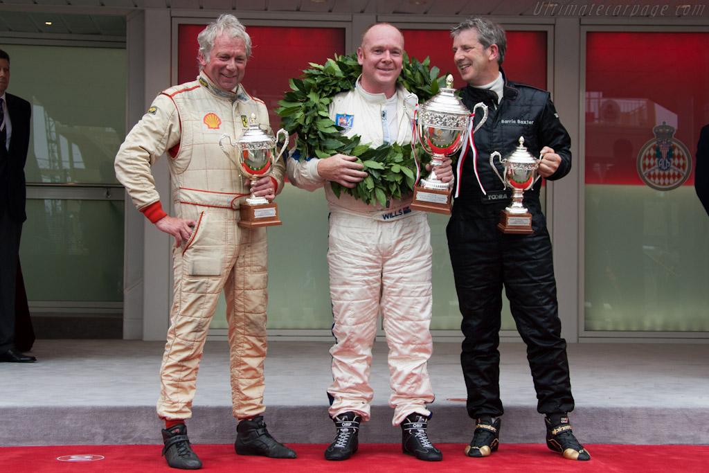 The podium    - 2012 Monaco Historic Grand Prix