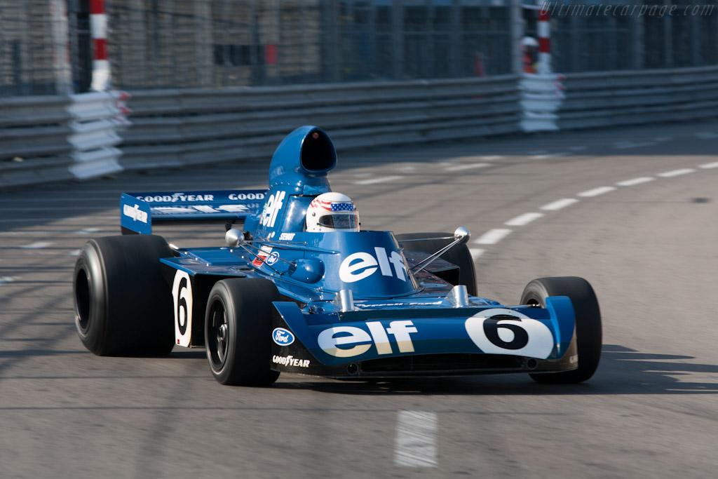 Tyrrell 006 Cosworth - Chassis: 006 - Driver: John Delane  - 2012 Monaco Historic Grand Prix