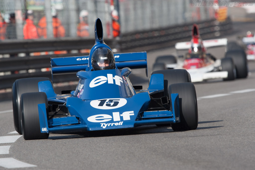 Tyrrell 007 Cosworth - Chassis: 007/4   - 2012 Monaco Historic Grand Prix