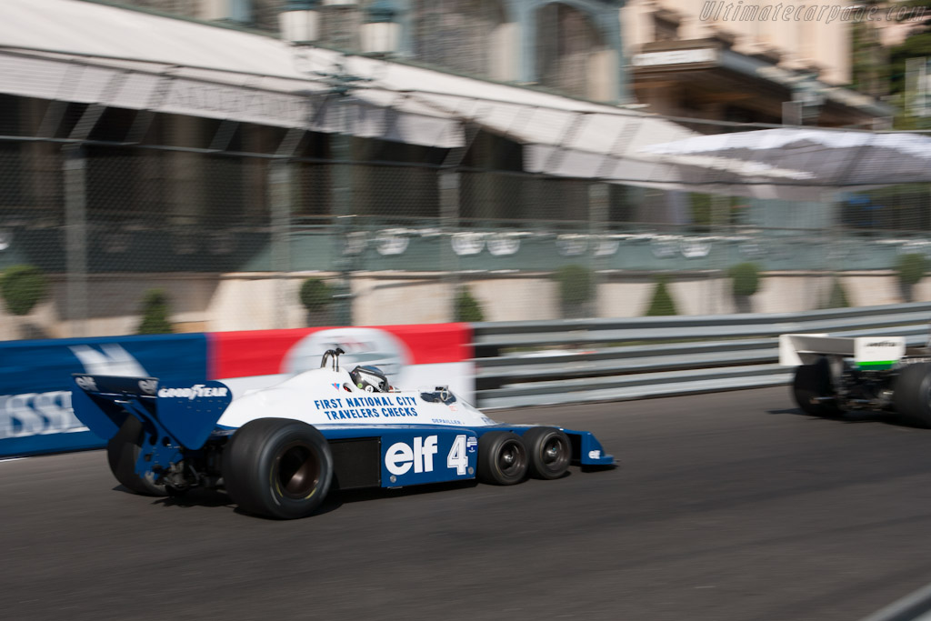 Tyrrell P34 Cosworth - Chassis: P34/2 - Driver: Roger Wills  - 2012 Monaco Historic Grand Prix