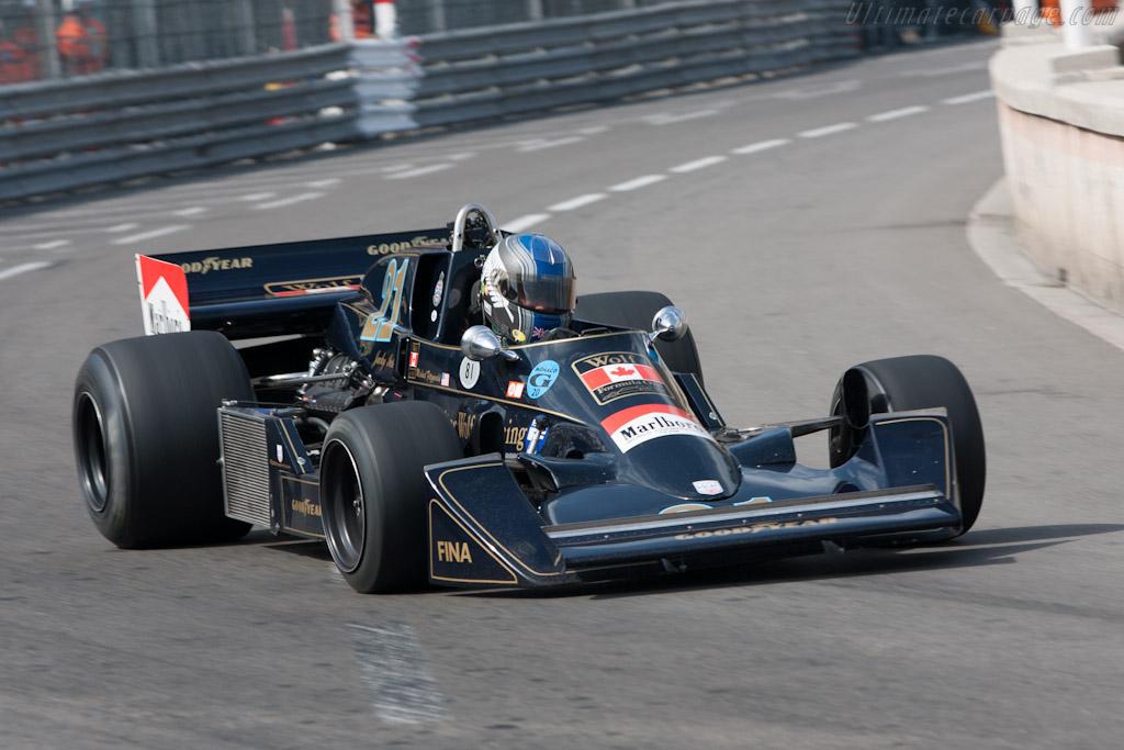 Williams FW05 Cosworth - Chassis: FW05/3   - 2012 Monaco Historic Grand Prix