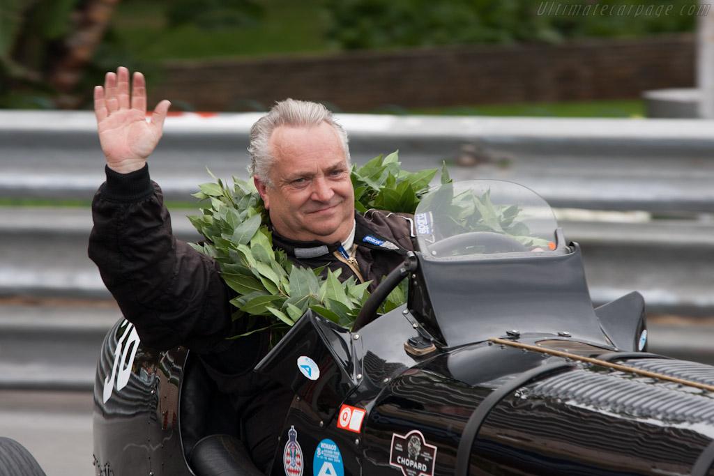 Winner Julian Bronson    - 2012 Monaco Historic Grand Prix