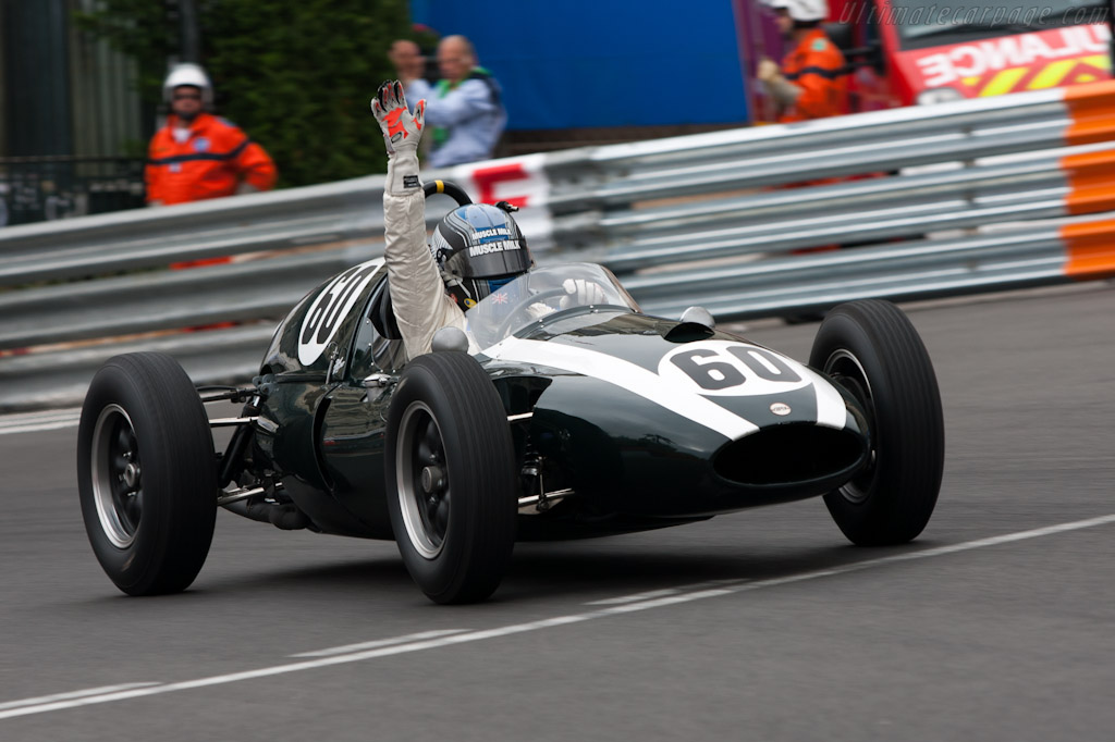 Winner Roger Wills    - 2012 Monaco Historic Grand Prix