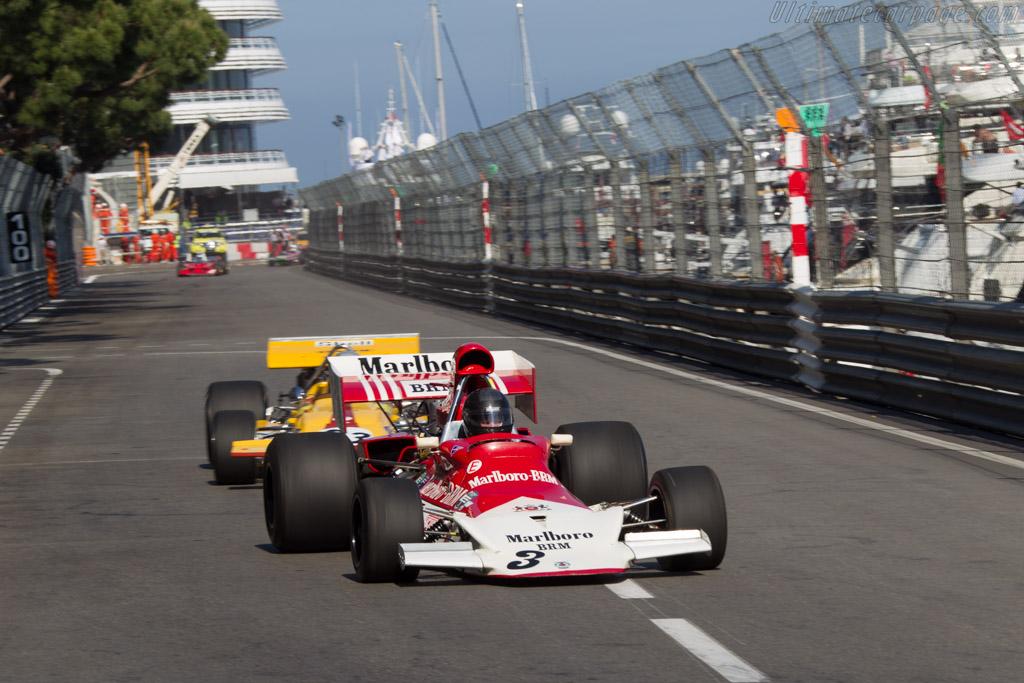 BRM P180 - Chassis: P180/02 - Driver: Robs Lamplough  - 2014 Monaco Historic Grand Prix