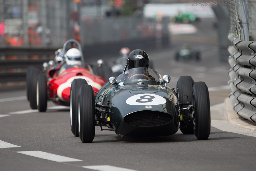 BRM P48 - Chassis: P48-7 - Driver: Barrie Baxter  - 2014 Monaco Historic Grand Prix