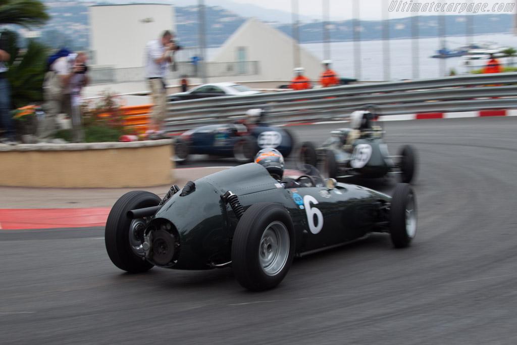 BRM P48 - Chassis: P48-2 - Driver: Rob Hall  - 2014 Monaco Historic Grand Prix