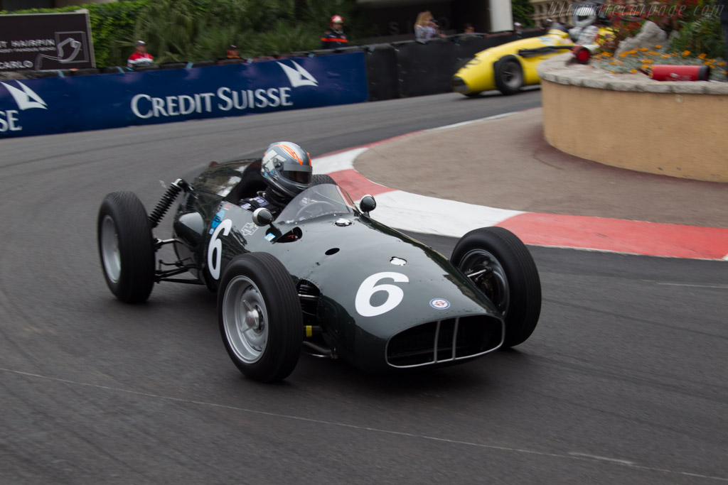 BRM P48 - Chassis: P48-2 - Driver: Rob Hall  - 2014 Monaco Historic Grand Prix