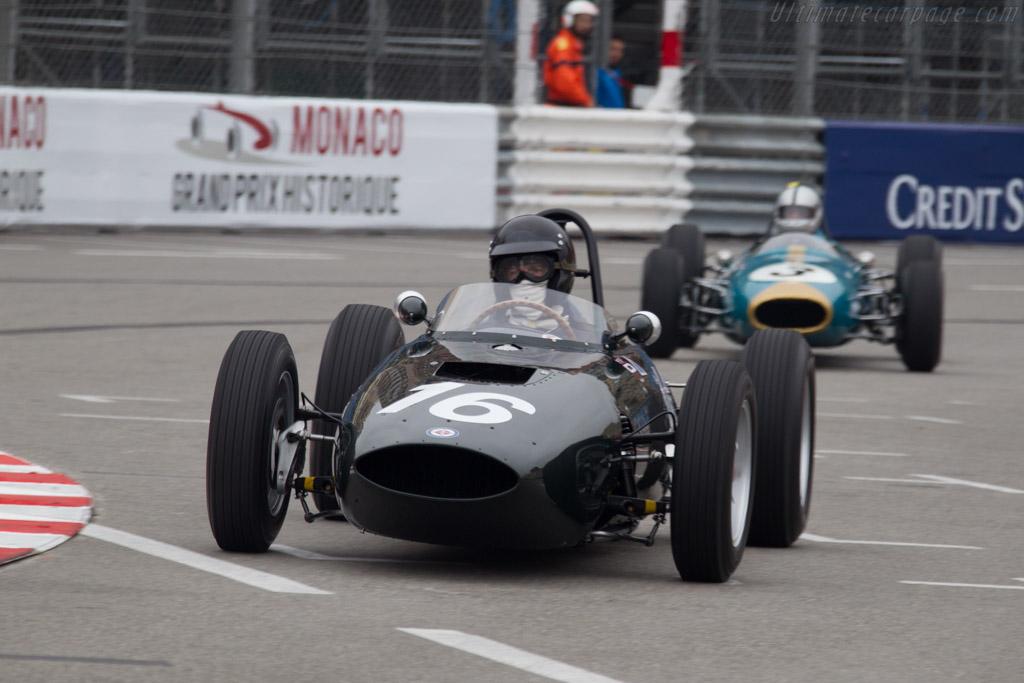 BRM P57 - Chassis: 572 - Driver: Charles McCabe  - 2014 Monaco Historic Grand Prix